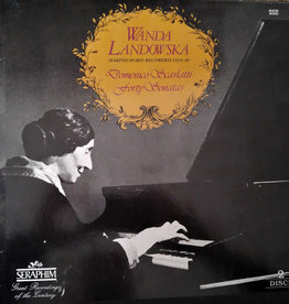 Used Vinyl Scarlatti- Forty Sonatas