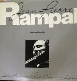 Used Vinyl Rampal- Duets And Sonatas
