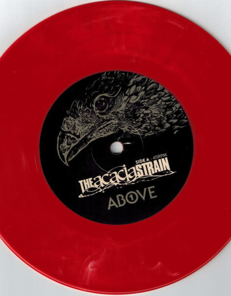 Used 7 Acacia Strain- Above/Below (Red)