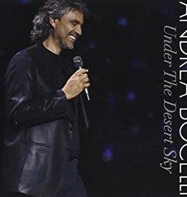 Used CD Andrea Bocelli- Under The Desert Sky