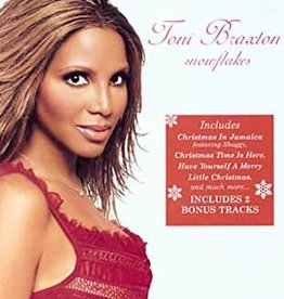 Used CD Toni Braxton- Snowflakes