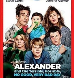 Used BluRay Alexander And The Terrible, Horrible, No Good, Very Bad Day