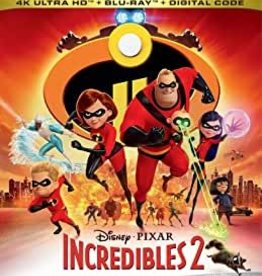 Used BluRay Incredibles 2 (4K)