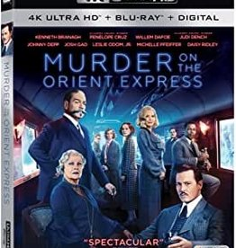 Used BluRay Murder On The Orient Express (4K)