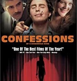 Used DVD Confessions Of A Dangerous Mind