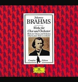 Used CD Brahms- Werke Fur Chor Und Orchester