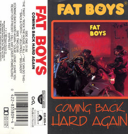 Used Cassettes Fat Boys- Coming Back Hard Again