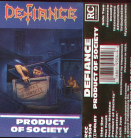 Used Cassettes Defiance- Product Of Society