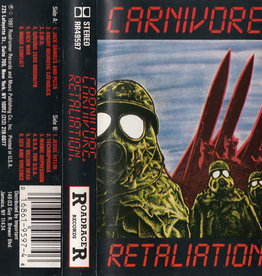 Used Cassettes Carnivore- Retaliation