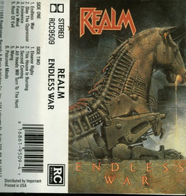Used Cassettes Realm- Endless War