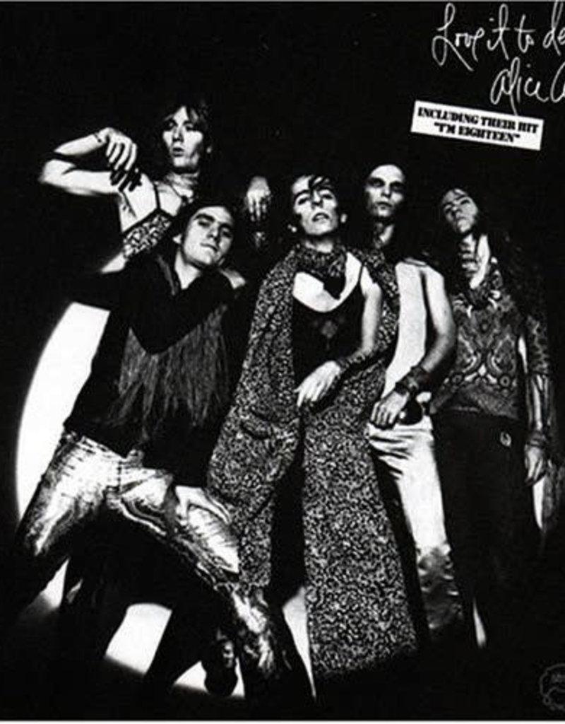 Used Vinyl Alice Cooper- Love It To Death