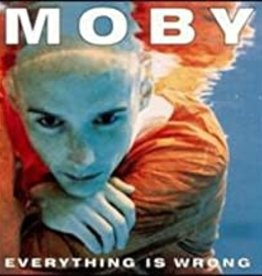 Used CD Moby-Everything Is Wrong