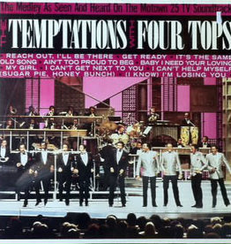 Used Vinyl The Temptations With Four Tops- Medley
