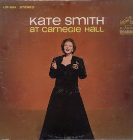 Used Vinyl Kate Smith- At Carnegie Hall