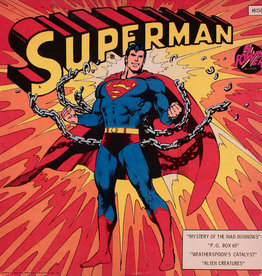 Used Vinyl Superman: Mystery Of The Mad Minnows + 3 More Adventures (Sealed)