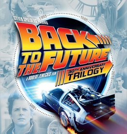Used BluRay Back To The Future 30th Anniversary Trilogy