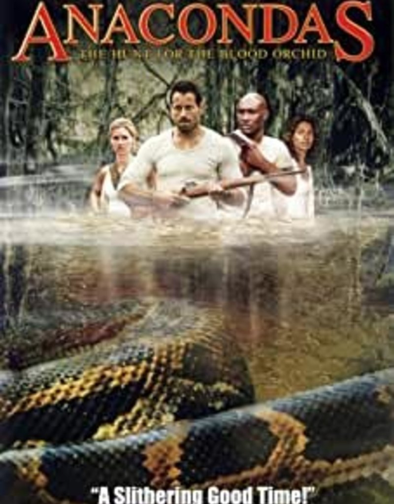 Used DVD Anacondas:  Hunt For The Blood Orchid