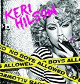 Used CD Keri Hilson- No Boys Allowed