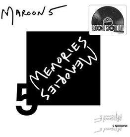 "New 7"" Maroon 5- Memories -RSD20-3"