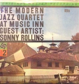 Used Vinyl Modern Jazz Quartet- Modern Jazz Quartet At Music Inn Volume 2, Guest Artist: Sonny Rollins (1995 MoFi Anadisq 200g Reissue)(Numbered)