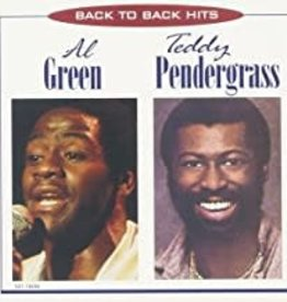 Used CD Al Green, Teddy Pendergrass- Back To Back Hits
