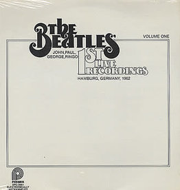 Used Vinyl The Beatles- 1st Live Recordings Volume One