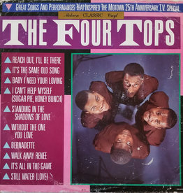 Used Vinyl The Four Tops- Great Songs...