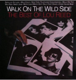 Used Vinyl Lou Reed- Walk On The Wild Side - The Best Of Lou Reed (Sealed)