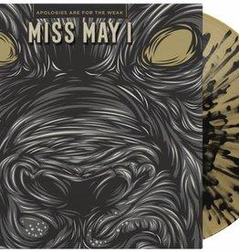 Used Vinyl Miss May I- Apologies Are For The Weak (Beer w/ Black Splatter)