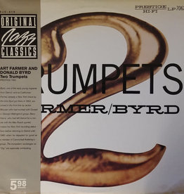 Used Vinyl Art Farmer/Donald Byrd- 2 Trumpets (1982 Reissue)(Sealed)