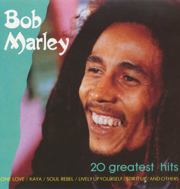 Used CD Bob Marley- 20 Greatest Hits