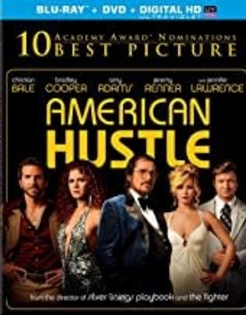 Used BluRay American Hustle