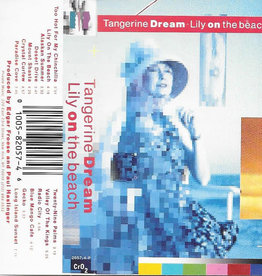 Used Cassettes Tangerine Dream- Lily On The Beach