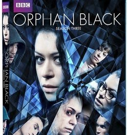 Used BluRay Orphan Black Season 3