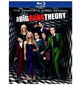 Used BluRay Big Bang Theory Season 6