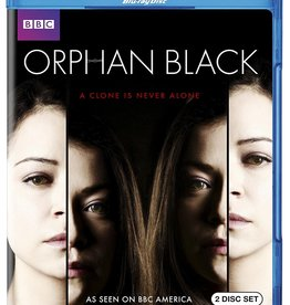 Used BluRay Orphan Black Season 1