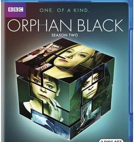 Used BluRay Orphan Black Season Two