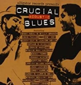 Used CD Various- Crucial Acoustic Blues