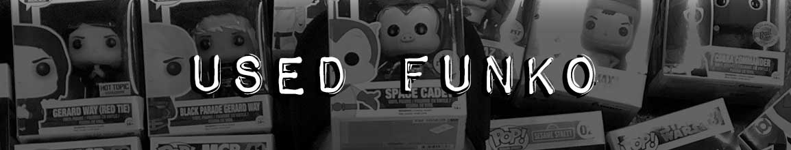 used funko pop vinyl toys figures for sale at darkside records poughkeepsie ny