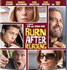 Used BluRay Burn After Reading