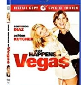 Used BluRay What Happens In Vegas