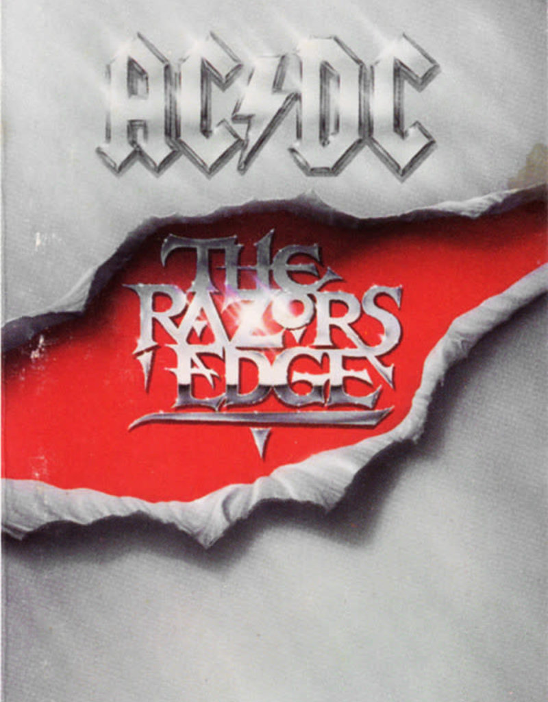 Used Cassettes AC/DC- The Razor's Edge