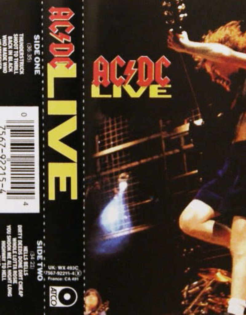 Used Cassettes AC/DC- Live