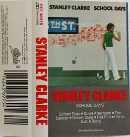 Used Cassettes Stanley Clarke- School Days