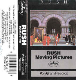 Used Cassette Rush- Moving Pictures