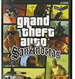 PS2 Grand Theft Auto San Andreas