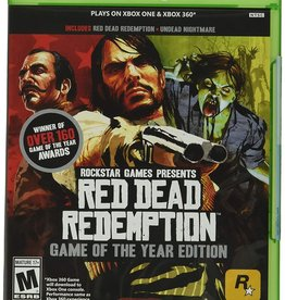 XBox One Red Dead Redemption: Game Of The Year Edition
