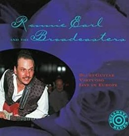 Used CD Ronnie Earl- Blues Guitar Virtuoso: Live In Europe