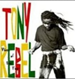 Used CD Tony Rebel- Vibes Of The Time