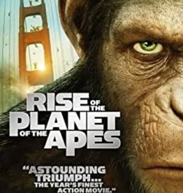 Used DVD Rise Of The Planet Of The Apes
